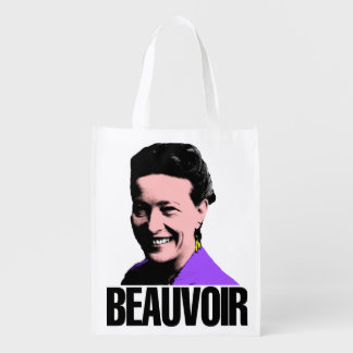Ecological bag Simone de Beauvoir