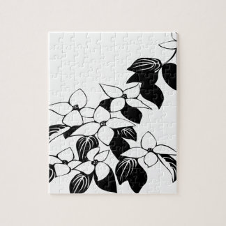 Ecological floral flowers leaf jigsaw puzzle