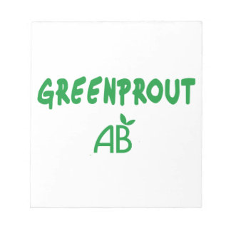 Ecological Greenprout Notepad