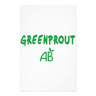 Ecological Greenprout Stationery