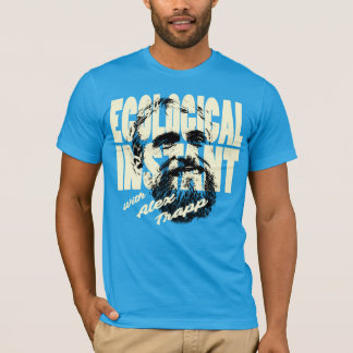 Ecological Instant Bold and Blue T-Shirt