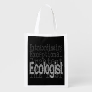 Ecologist Extraordinaire Reusable Grocery Bag
