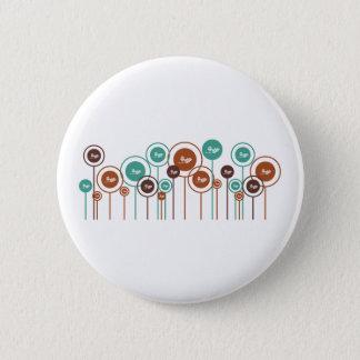 Ecology Daisies 6 Cm Round Badge