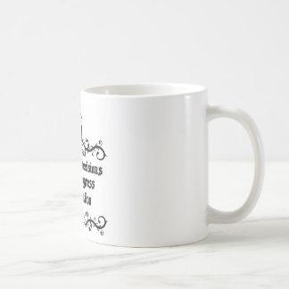 Economical Decisions Kill The Progress Medieval Coffee Mug