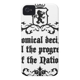 Economical Decisions Kill The Progress Medieval iPhone 4 Cases