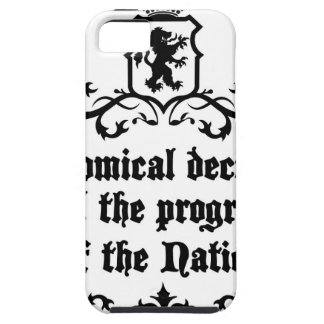 Economical Decisions Kill The Progress Medieval iPhone 5 Cases