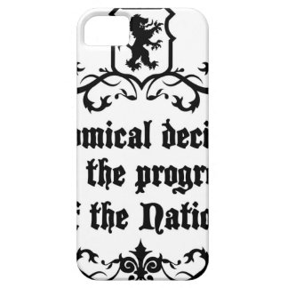 Economical Decisions Kill The Progress Medieval iPhone 5 Cover