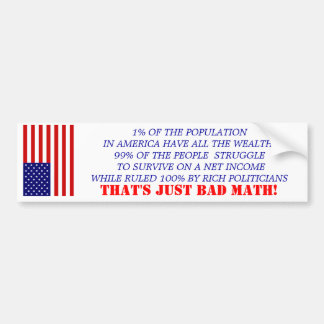 ECONOMICS BUMPER STICKER