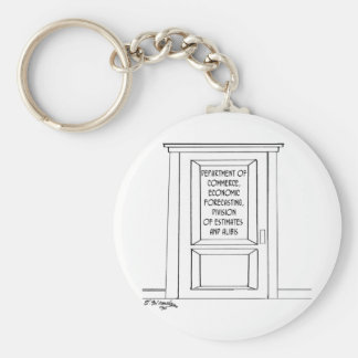Economics Cartoon 3781 Key Ring