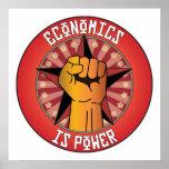 Economics Is Power Poster