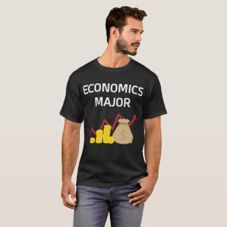 Economics Major College Degree T-Shirt