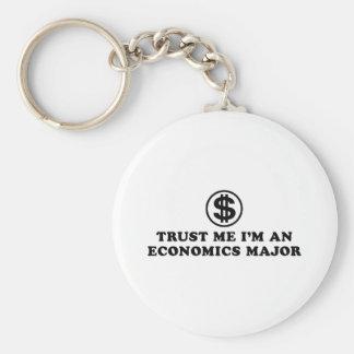 Economics Student Key Ring