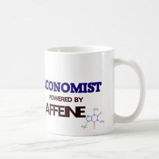 Economist Powered by caffeine Mugs