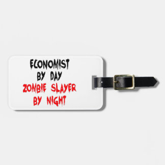 Economist Zombie Slayer Luggage Tag