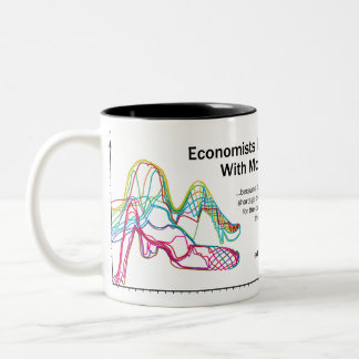 Economists Do It With Models Two-Tone Large Mug