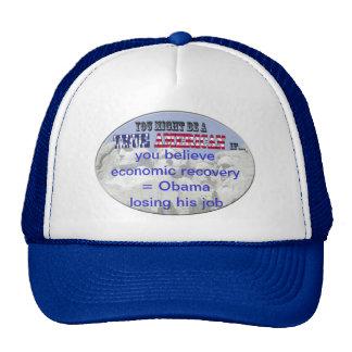economy obama trucker hat
