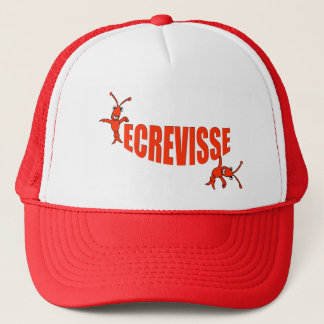 """Ecrevisse"" Cajun Crawfish Trucker Hat"