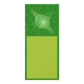 Ectoplasm Abstract Art Personalized Rack Card