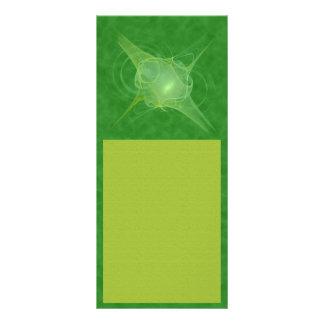 Ectoplasm Abstract Art Rack Card Design
