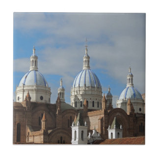 Ecuador - Cathedral of the Immaculate Conception Small Square Tile