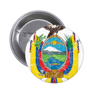 Ecuador Coat Of Arms 6 Cm Round Badge