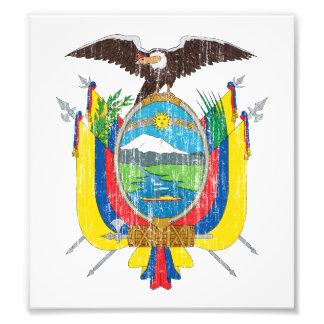 Ecuador Coat Of Arms Art Photo