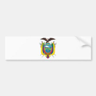 Ecuador Coat Of Arms Bumper Sticker