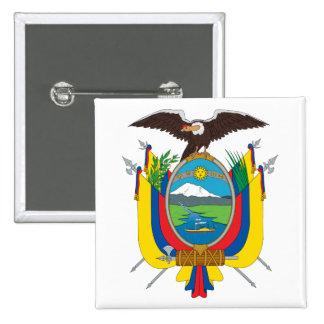 Ecuador Coat of Arms Button