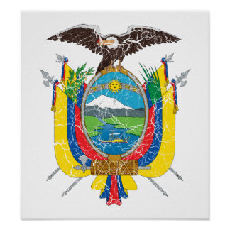 Ecuador Coat Of Arms Posters