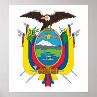 Ecuador Coat Of Arms Print