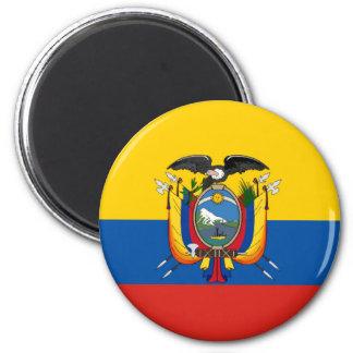 Ecuador country flag symbol long magnet