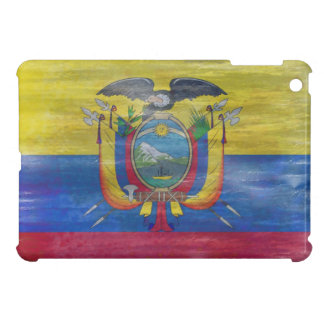 Ecuador distressed flag iPad mini covers
