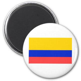 Ecuador Flag 6 Cm Round Magnet