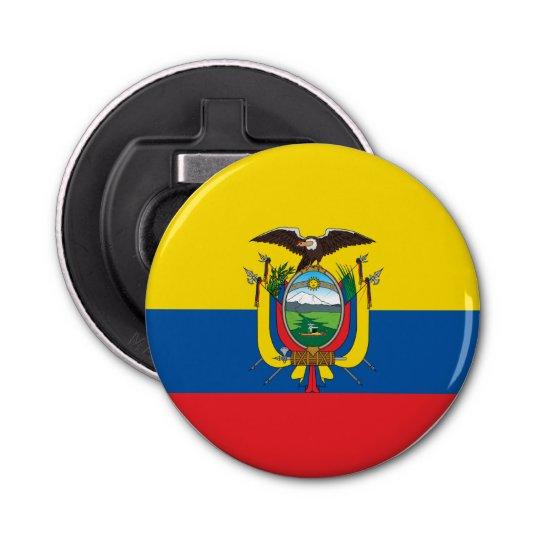Ecuador Flag Bottle Opener