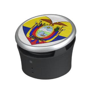 Ecuador Flag Heart Bluetooth Speaker