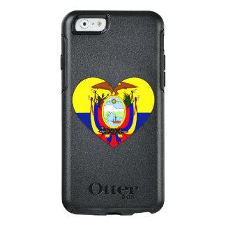 Ecuador Flag Heart OtterBox iPhone 6/6s Case