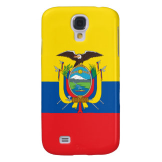 Ecuador Flag iPhone Samsung Galaxy S4 Case