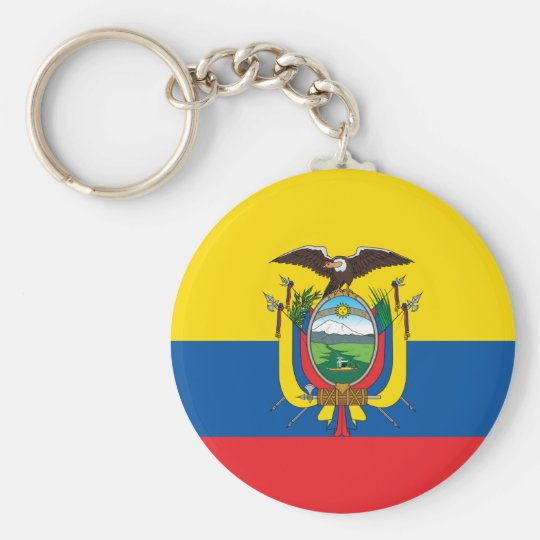 Ecuador Flag Key Ring