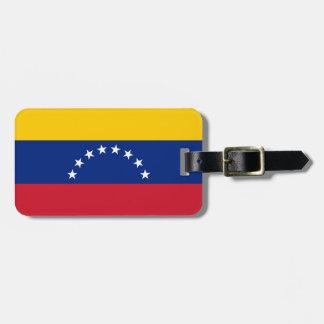 Ecuador Flag Luggage Tag