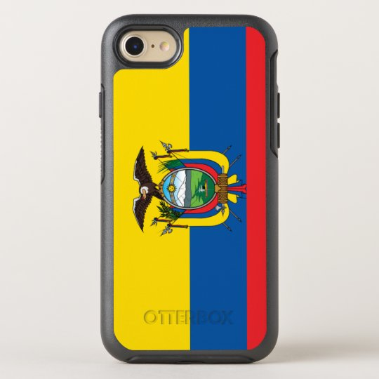 Ecuador Flag OtterBox Symmetry iPhone 8/7 Case