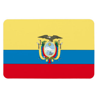 Ecuador Flag Rectangular Photo Magnet