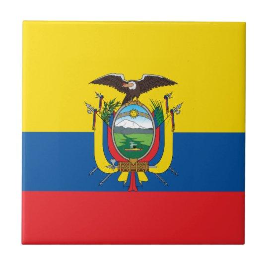Ecuador Flag Tile