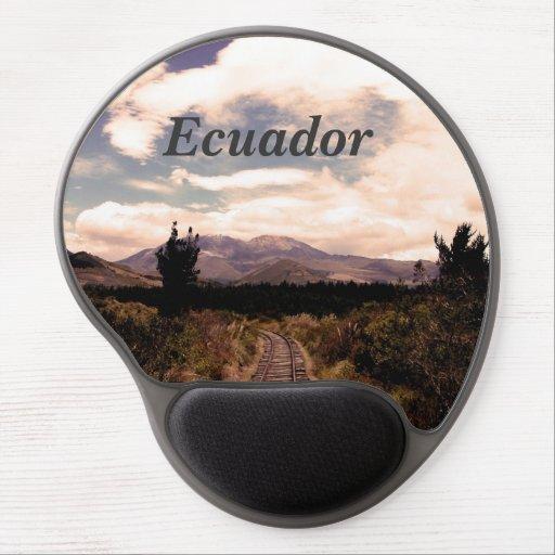 Ecuador Gel Mouse Mat