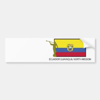 Ecuador Guayaquil North Mission CTR LDS Bumper Sticker