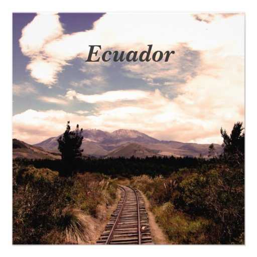 Ecuador Personalized Announcements