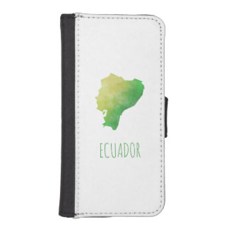 Ecuador iPhone SE/5/5s Wallet Case