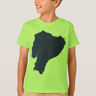 Ecuador Map T-Shirt