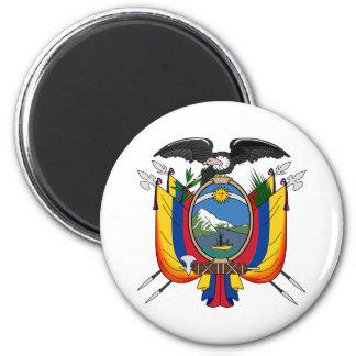 Ecuador Official Coat Of Arms Heraldry Symbol 6 Cm Round Magnet