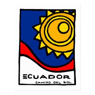 Ecuador Postcard