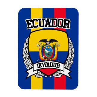 Ecuador Rectangular Photo Magnet